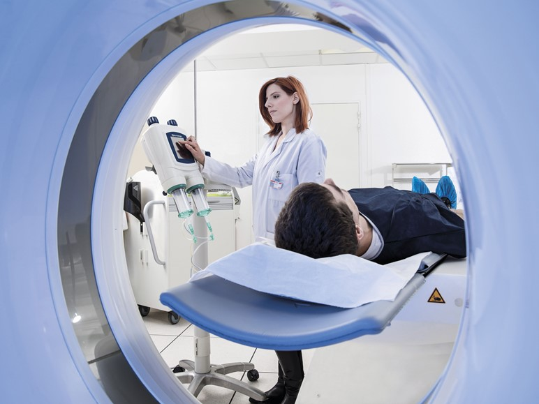 New CT scanner photo
